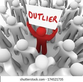 Outlier Sign Minority Response Abnormal Aberration Skew Answer