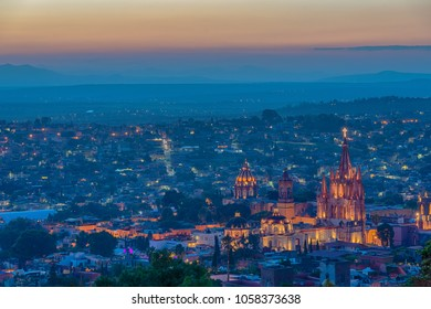 outlook of San Miguel de Allende