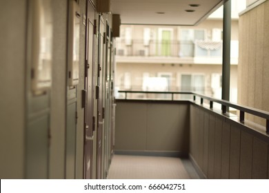 outside corridor