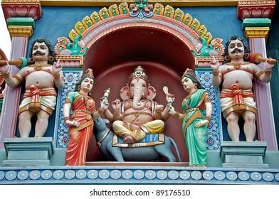 Outside Of Sri Vadapathira Kaliamman Temple