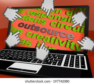 Outsource Laptop Screen Meaning Contract Out To Freelancer