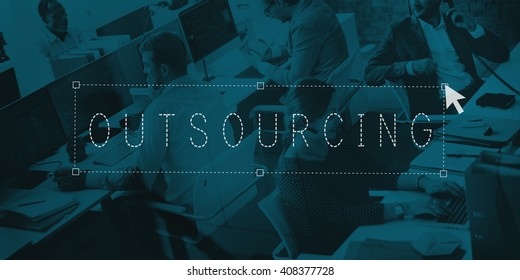 Outsourcing Outsource Manpower Subcontract Concept