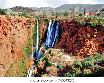 Ouzoud Waterfall in Marocco as One Day Trip from Marrakech
