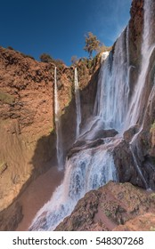 Ouzoud Waterfalls (Cascades d'Ouzoud) near the Grand Atlas village of Tanaghmeilt, in the province of Azilal,  Morocco