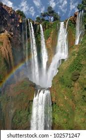 Ouzoud Waterfalls.Morocco