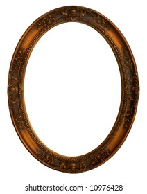 Oval Decorative Picture Frame