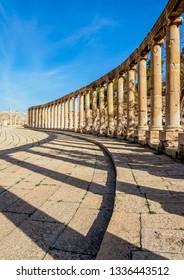 Oval Plaza, Jerash, Jerash Governorate, Jordan