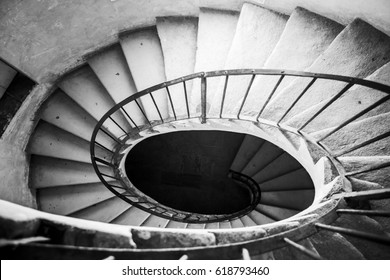 Oval stair, middle age style