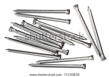 Wire Nails | Oval Steel Wire Nails Stock Photo Edit Now 71130838 Shutterstock