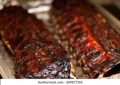 oven baked barbeque pork ribs