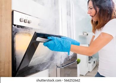 Oven Food Burn