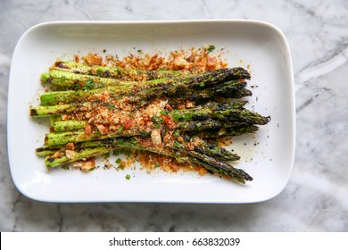 Oven Roasted Green Asparagus Spears