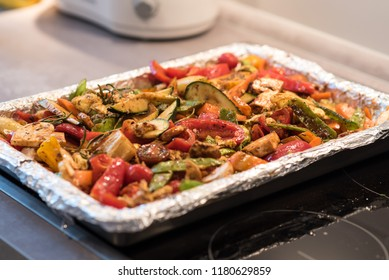Oven vegetable mix