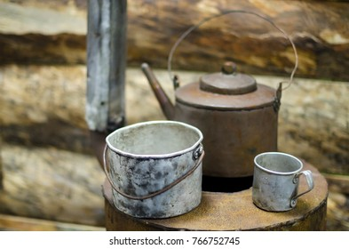 """Oven-stove """"stove"""", the military circle and bowler"""