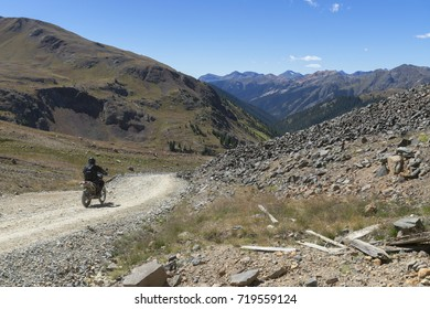 At over 10,000 feet in elevation, this four wheel trail above the town of Silverton offers stunning views above tree line.