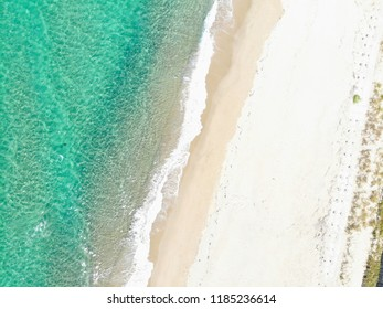 Over the Beach and Waves, Taking from drone