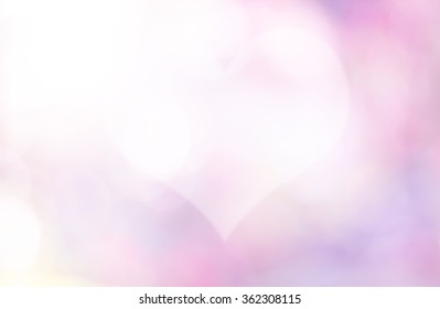 Over blur pink flower with De focused heart bokeh textures valentine day background with light flare from conner, art, love, pink love, sweetheart, valentine day concept. backdrop, Happy valentine day