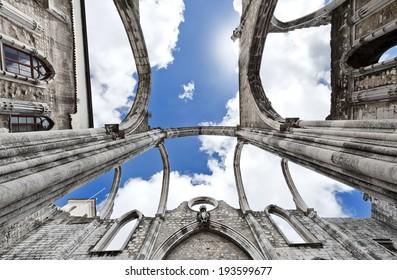 Over the Carmo Church