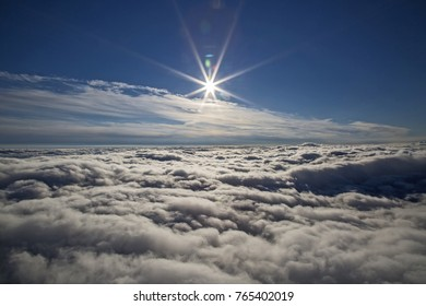 Over the Clouds and into the Sun