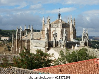 Over the roofs of Toledo