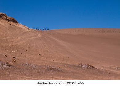 Over the sand mountain