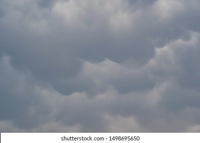 Overcast Clouds before rain storm