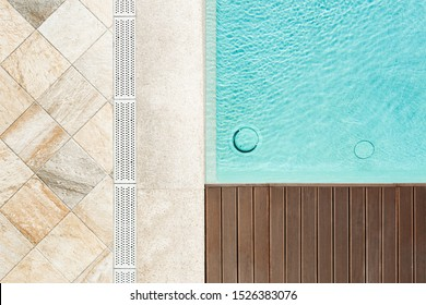 Overflow grilles for swimming pools. Tap water at the edge of the bowl. System. Sections. Hygiene.