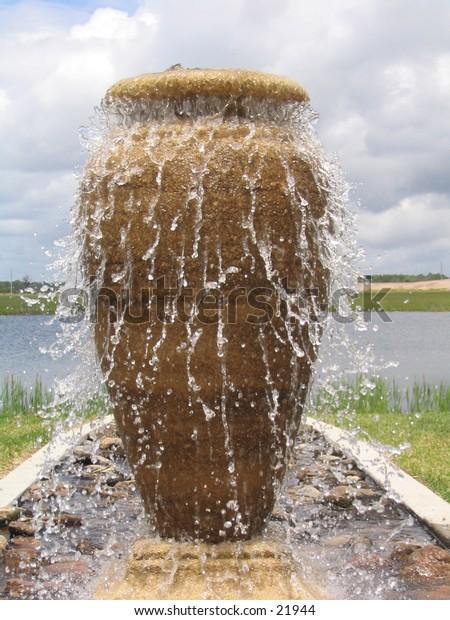 Overflowing jug