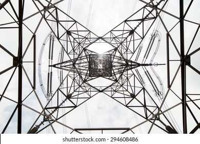 Overhead Cables from Bottom View