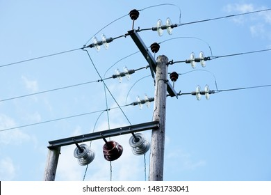 Overhead Telephone Cables Images, Stock Photos & Vectors