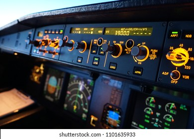 Overhead panel airbus A320 switches