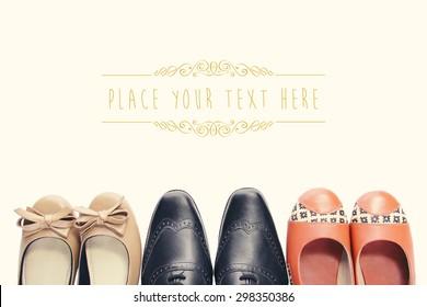 46ba5e963ec Imágenes, fotos de stock y vectores sobre Women Shoes Aerial ...