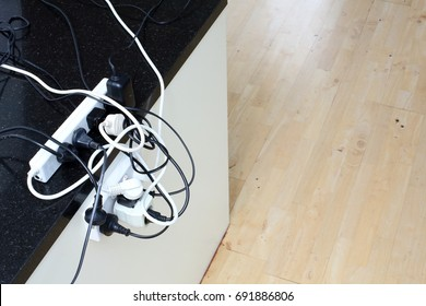 Overloaded Power Outlet