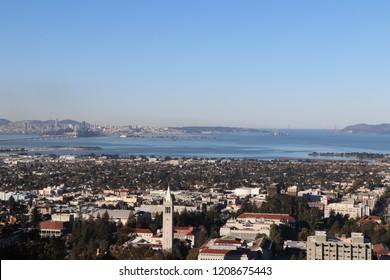Overlook from Berkeley to San Francisco
