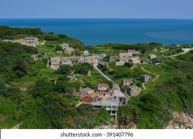 Overlook of Dapu Village at Matsu, Taiwan