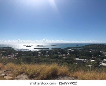 An overlook of Mayaguez, Puerto Rico