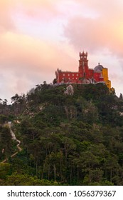 overlook with a view of Pena Palace