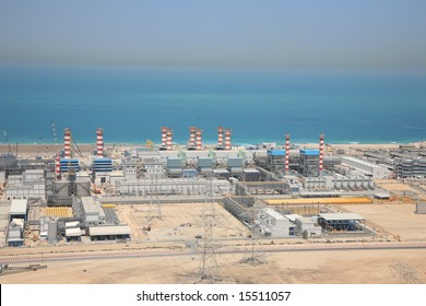 Overlook Water Desalination Plant of Dubai