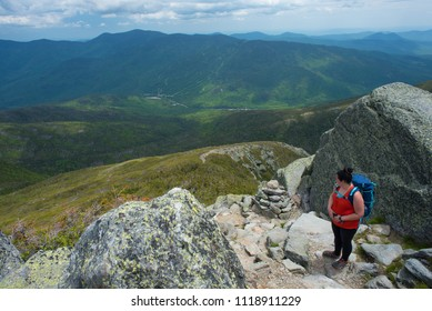 Overlooking the accomplishment of hiking Mt. Washington.