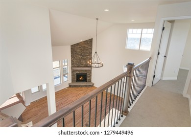 Overlooking Farm House Living Space