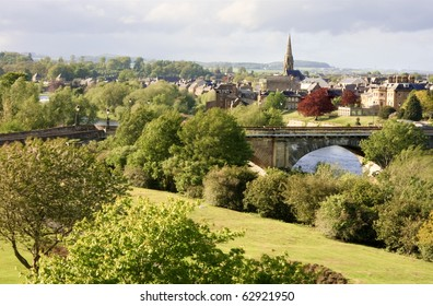 Overlooking the market town of Kelso in Roxburghshire