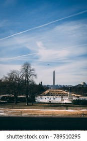 overlooking the national mall