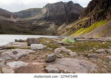 Overnight wild camp in coire mhic fhearchair