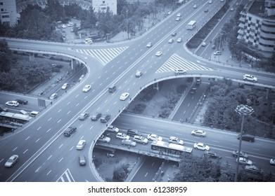 Overpass in china city chengdu