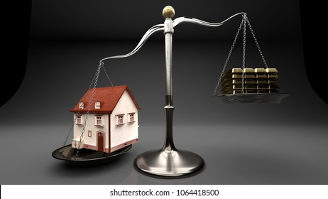 Overpricing properties leads to risky mortgages and loans. House value overweigh family income and savings which leads to exceeded lending, debt, financial spiral and bankruptcy.