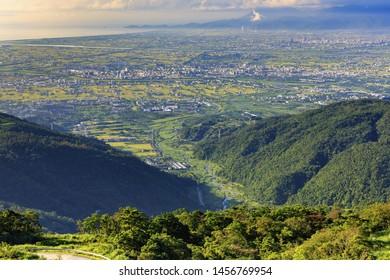 Overview of Nature Landscape,Lanyang Plain;Yilan;Taiwan