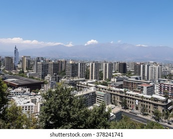 Overview of Santiago de Chile, Chile