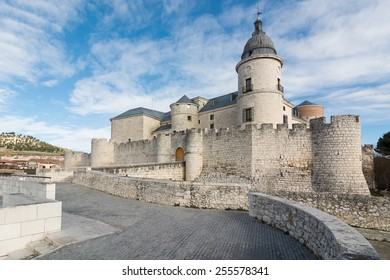 overview simancas castle in the province of Valladolid, Spain