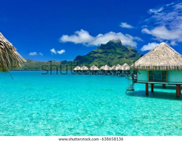 Overwater Bungalows Luxury Resort Providing View Nature