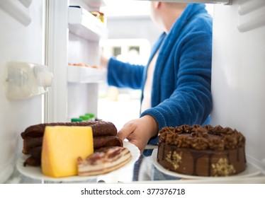 Fat Guy Eating Images, Stock Photos & Vectors   Shutterstock